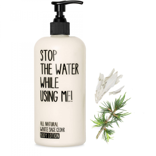 STOP THE WATER WHILE USING ME WHITE SAGE BODY LOTION 500ml
