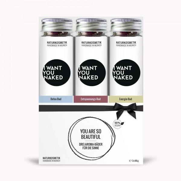 I WANT YOU NAKED AROMA-BAD, SET 3x90g