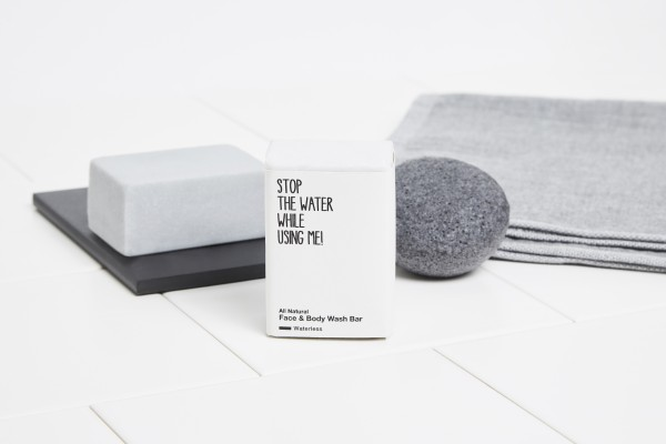 STOP THE WATER WHILE USING ME FACE&BODY WASH BAR 105g