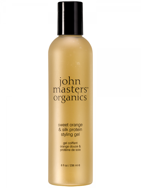 JOHN MASTER ORGANICS SWEET ORANGE & SILK PROTEIN GEL 236ml