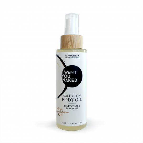 I WANT YOU NAKED COCO GLOW BODY OIL 100ml