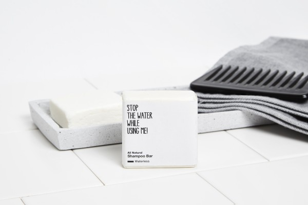 STOP THE WATER WHILE USING ME WATERLESS SHAMPOO BAR 75g