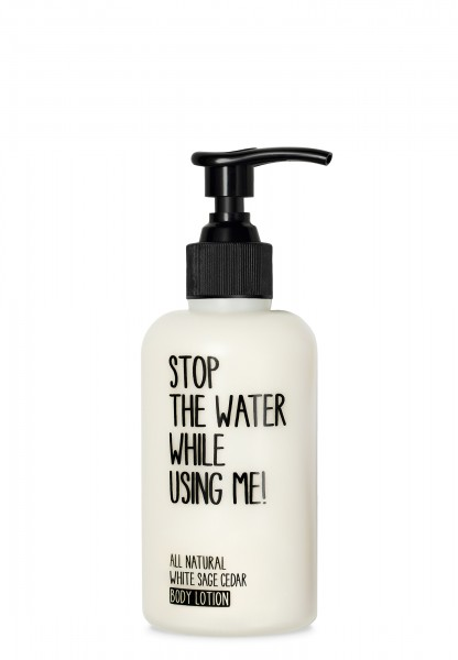 STOP THE WATER WHILE USING ME WHITE SAGE BODY LOTION 200ml