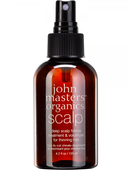 JOHN MASTER ORGANICS DEEP SCALP FOLLICLE TREATMENT & VOLUMIZER FOR THINNING HAIR 125ml
