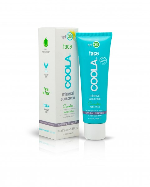 COOLA MINERAL MINERAL FACE MOISTURIZER SPF30 MATTE FINISH CUCUMBER 50ml