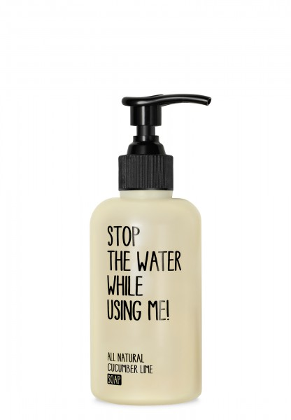 STOP THE WATER WHILE USING ME CUCUMBER LIME SOAP 200ml