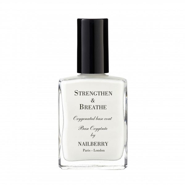 NAILBERRY STRENGTHEN & BREATHE BASE COAT 15ml