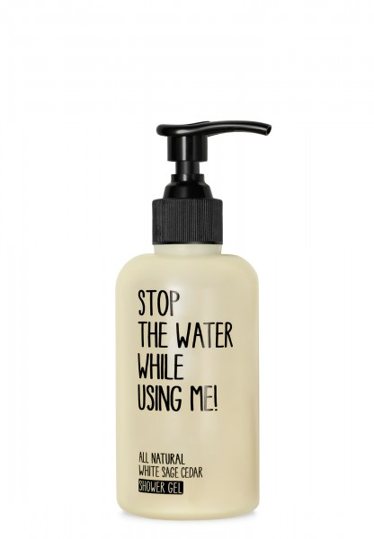 STOP THE WATER WHILE USING ME WHITE SAGE CEDAR SHOWER GEL 200 ml