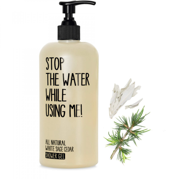 STOP THE WATER WHILE USING ME WHITE SAGE CEDAR SHOWER GEL 500 ml