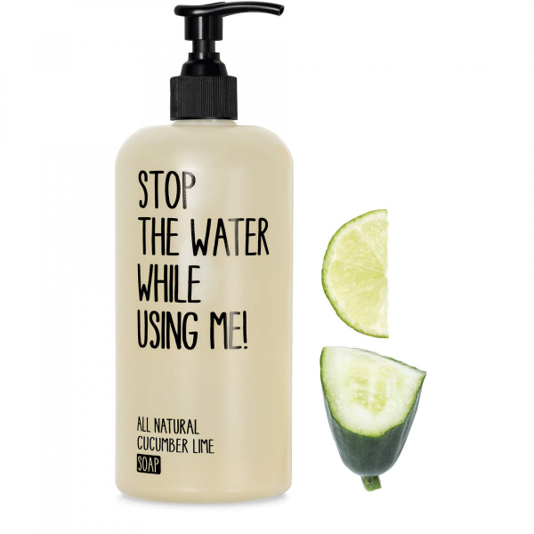 STOP THE WATER WHILE USING ME CUCUMBER LIME SOAP 500ml
