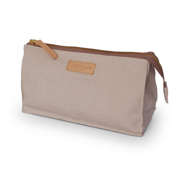 ASPEGREN CANVAS TOILET BAG MANO KHAKI S 22x13x6cm