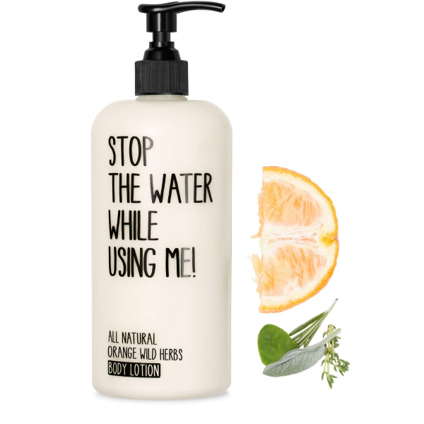 STOP THE WATER WHILE USING ME ORANGE WILD HERBS BODY LOTION 500ml
