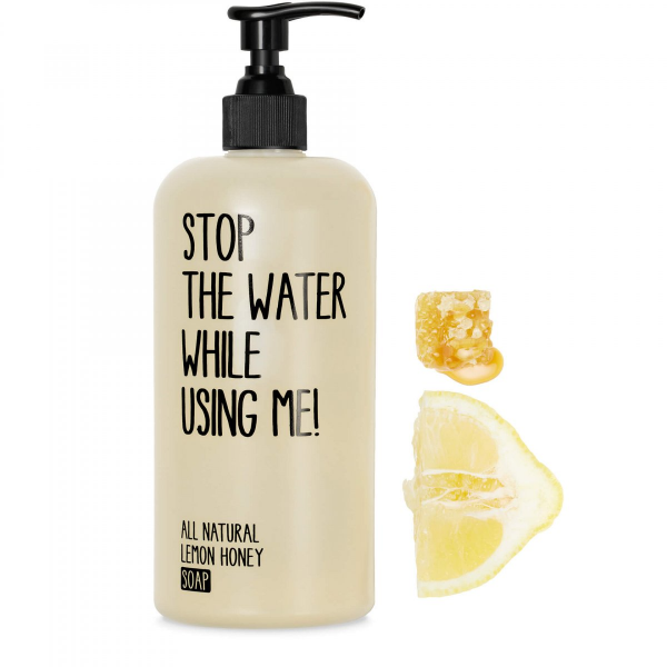 STOP THE WATER WHILE USING ME LEMON HONEY SOAP 500ml